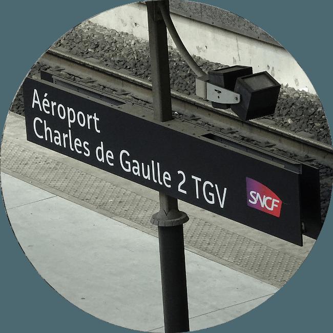 Transfert Gare CDG 2 TGV