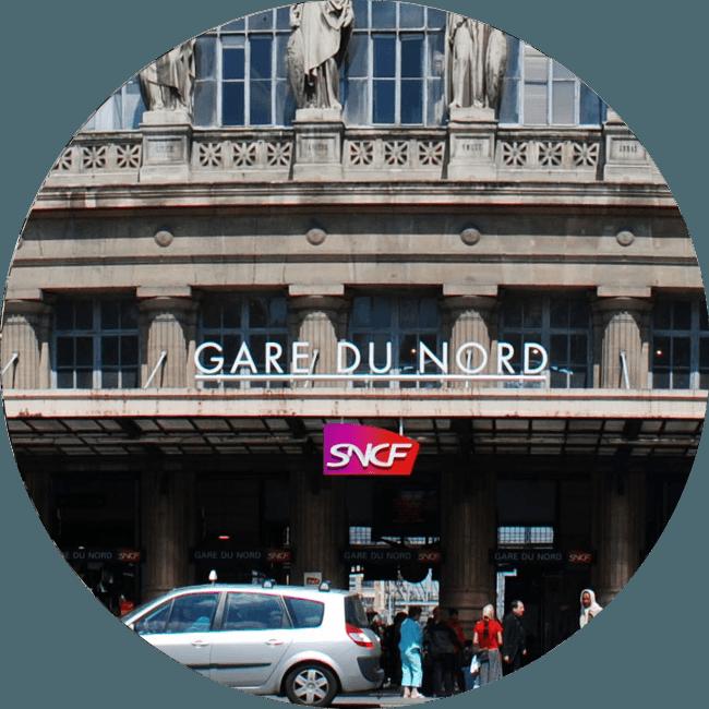 Transfert Gare du Nord