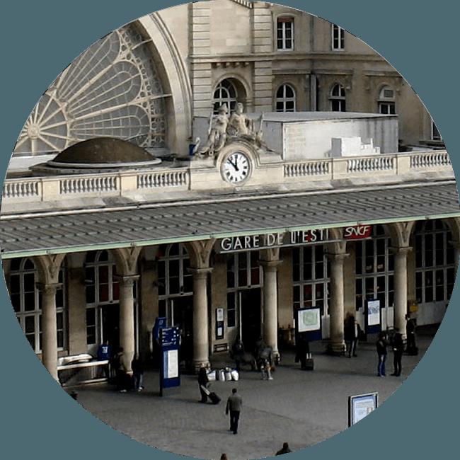 Transfert Gare de L'Est