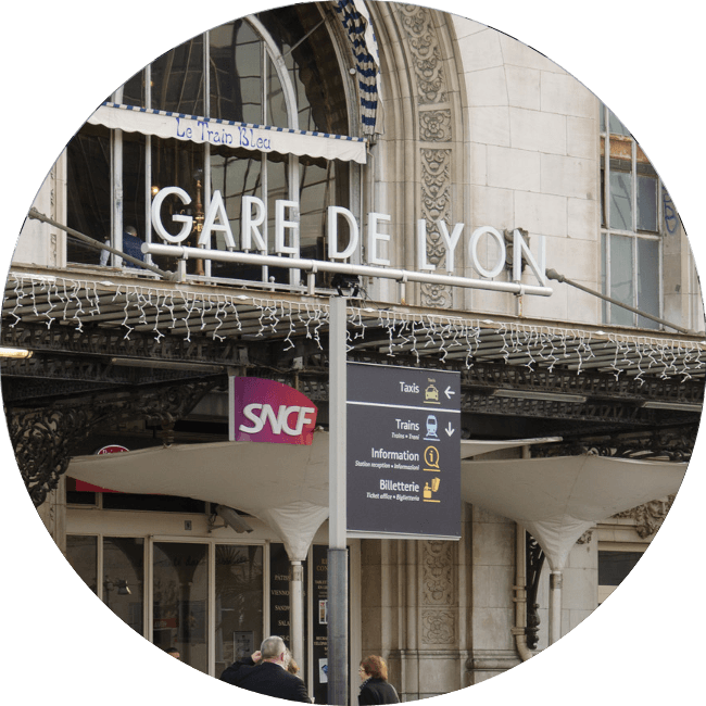 Transfert Gare de Lyon