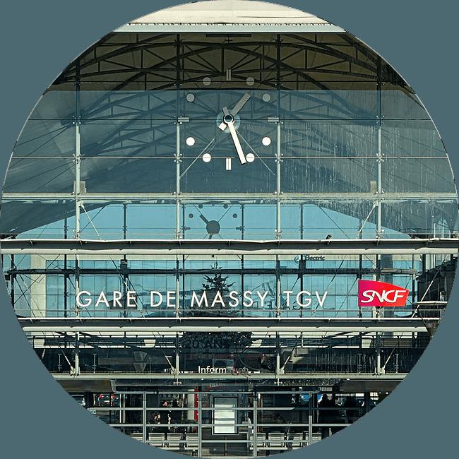Transfert Gare Massy TGV